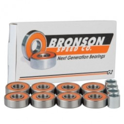 25 mm x 47 mm x 12 mm Basic dynamic load rating (C) Bronson Speed Co. Bronson Speed G2 Skateboard Bearings